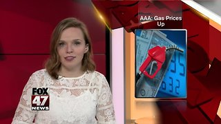 AAA Michigan: Statewide gas prices rise by 12 cents