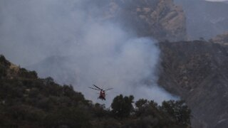 Los Angeles Evacuations Ordered As Wildfire Burns