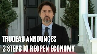 Trudeau Unveiled 3 Necessary Steps To Open The Economy & Get To A New Normal