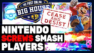 Nintendo DESTROYS Super Smash Bros Melee Fans & BANS The Big House Tournament! #FreeMelee
