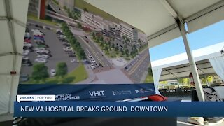 New VA Hospital Breaks Ground Downtown