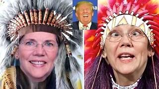Trump dares Faux-cohontas Elizabeth Warren to take DNA test