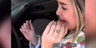 Jenta får «bilen fra helvete» i julegave