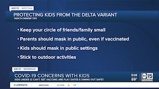 Health Insider: COVID-19 concerns with kids