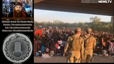Breaking Footage of the Border Crisis! Biden Admin is an Absolute Failure