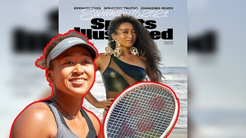Professional Tennis VICTIM Naomi Osaka makes the SI Swimsuit Cover!