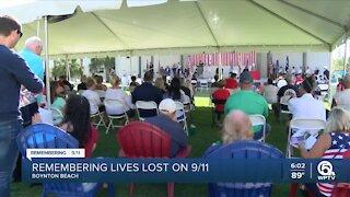 Remembering lives lost on 9/11 in Boynton Beach