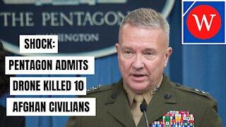 HORROR: Pentagon ADMITS Drone Strike Hit Wrong Target #Shorts