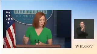 Psaki: If You're Banned From One Social Media Platform You Should Be Banned By ALL