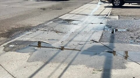 When will Iliff Avenue between Quebec, Parker Road be repaved?