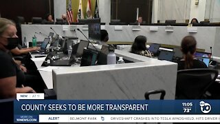 SD County Hold First Public Meeting for Transparency Committee