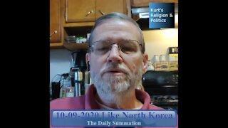 20201009 Like North Korea