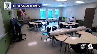 Students return to fully renovated Washington Elementary School in Riviera Beach
