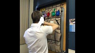 Shoe Bag Sorting Activity for Developmental Disabilities