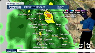 ABC 10News Pinpoint Weather for Sun. Oct. 24, 2021