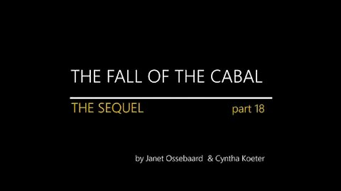Fall of the Cabal Sequel Part 18 of 1 to 18