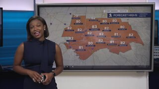 Your Saturday morning forecast
