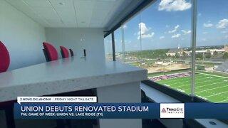 VIDEO: A look inside Union's renovated football stadium