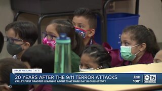 Students learn about first responders ahead of 9/11 anniversary