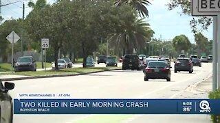 2 killed in early morning Boynton Beach crash