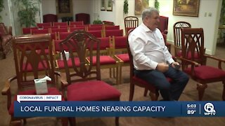COVID-19 pandemic puts strain on Palm Beach County funeral homes