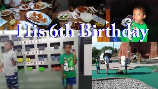His 6th Birthday Part 2