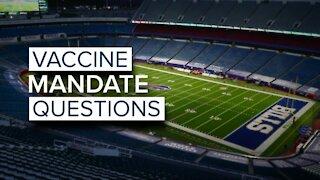 Vaccine mandate questions