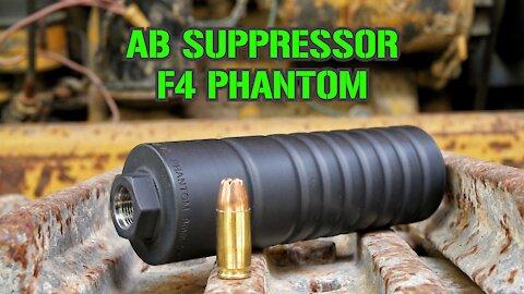 AB Suppressor F4 PHANTOM : TTAG Range Review
