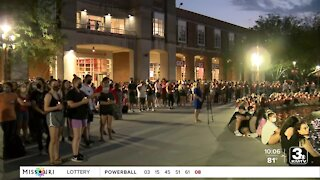 Vigil held for sexual assault victims