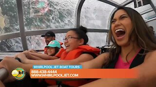 Have a fun-filled adventure on the Whirlpool Jet Boat tours
