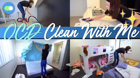 OBSESSIVE COMPULSIVE CLEANING (OCD) | Clean With Me ✨