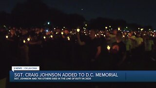 Tulsa police sergeant among hundreds honored at law enforcement vigil in Washington, D.C.