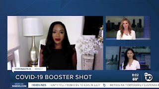 Interview: Covid-19 booster shots