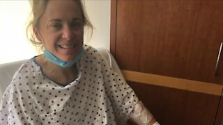 Six months after giving kidney to dad, woman running Akron Marathon
