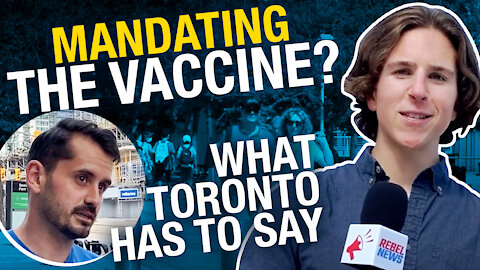 What do Torontonians think about vaccine passports?