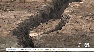 I-75 remains closed as crews repair sinkhole near 12 Mile