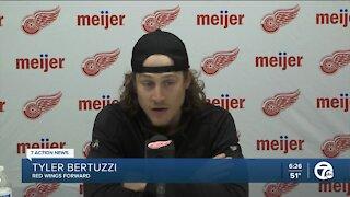 Tyler Bertuzzi explains decision not to get COVID-19 vaccine