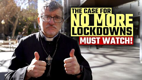 Aussie priest makes a perfect case AGAINST lockdowns at Sydney protest