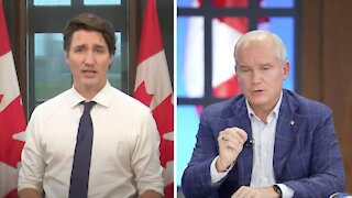 Trudeau Says He's 'Infuriated' By O'Toole's Promise To Scrap Vaccine Mandates & Here's Why