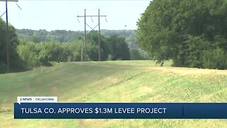 Tulsa Co. Approves Levee Project