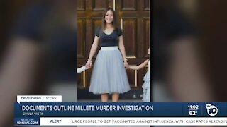 Court documents outline Millete murder investigation