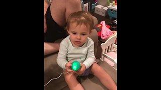 Cute little toddler hilariously sings 'Havana'