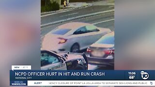 National City police officer hurt in hit-and-run