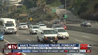 Triple-A's Thanksgiving travel forecast