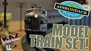Adirondack Scenic Railroad Model Train Layout