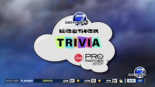 Weather trivia: Average first snow in Denver