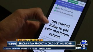 Consumer Alert: Problems with popular online tax prep services