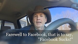Farewell Facebook..... You SUCK! Pickup Truck Podcast Ep:8