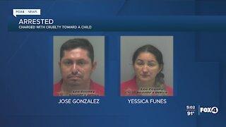 Bonita Springs couple accused of child cruelty