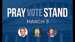 Pray Vote Stand: Unashamed